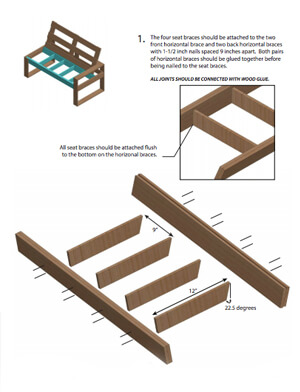 DIY Outdoor Sofa Plans