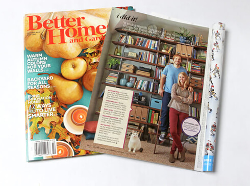 Gray House Studio Features in Better Homes and Gardens Magazine October 2015