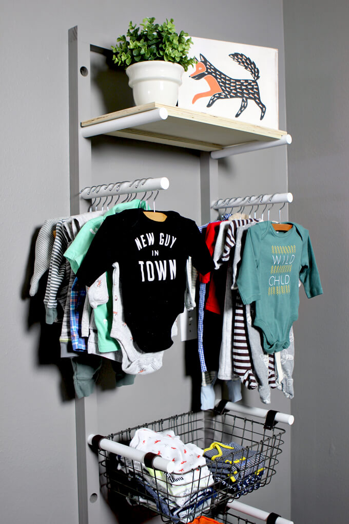 Baby Clothes Rack