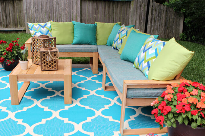Back Patio Makeover