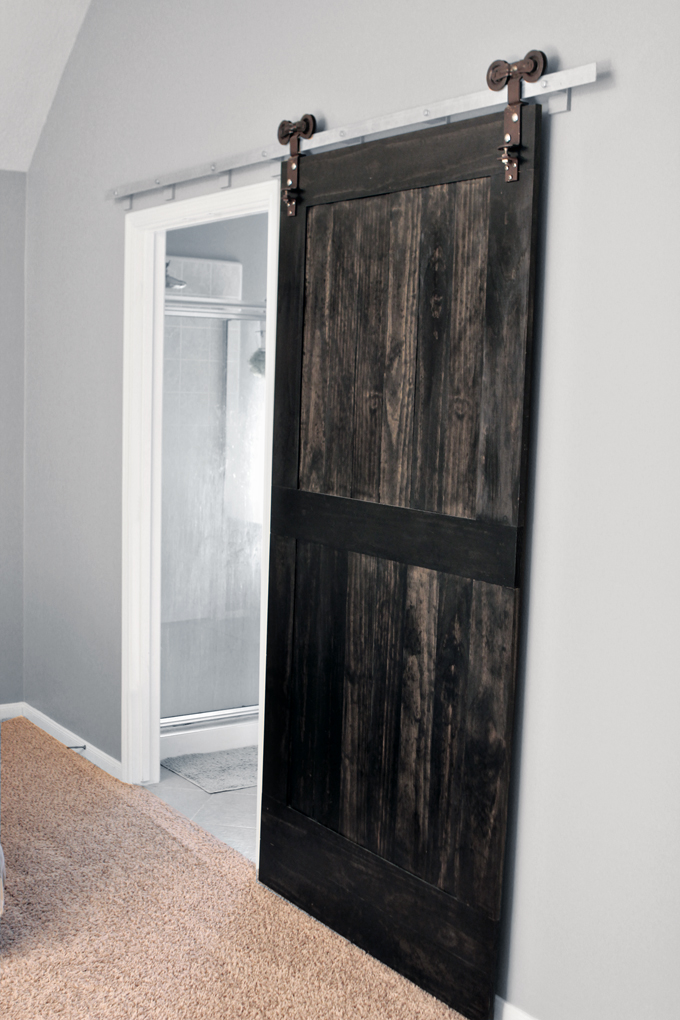 Wood Barn Door Gray House Studio