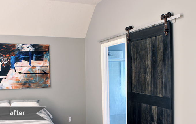 wood barn door plans