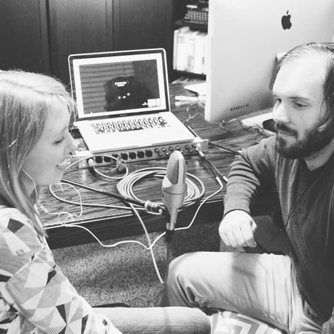 Brent + Courtney of Gray House Studio - DIY April Podcast Interview