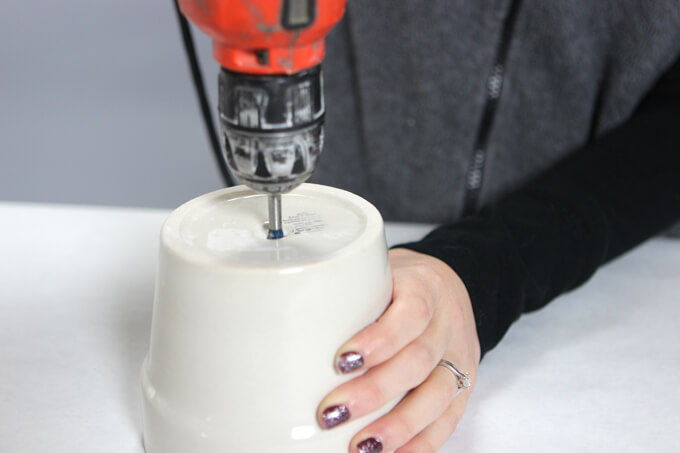 How To Drill A Hole In Ceramic Pot
