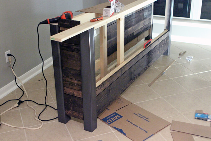 Building our DIY Coffee Bar