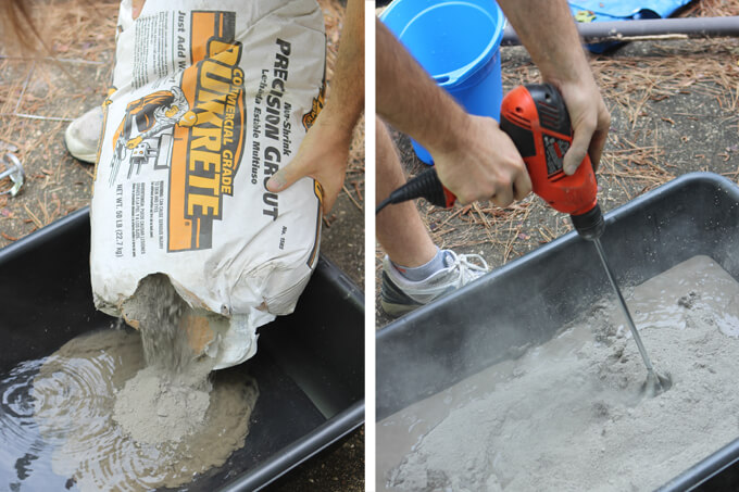 DIY Concrete Countertop