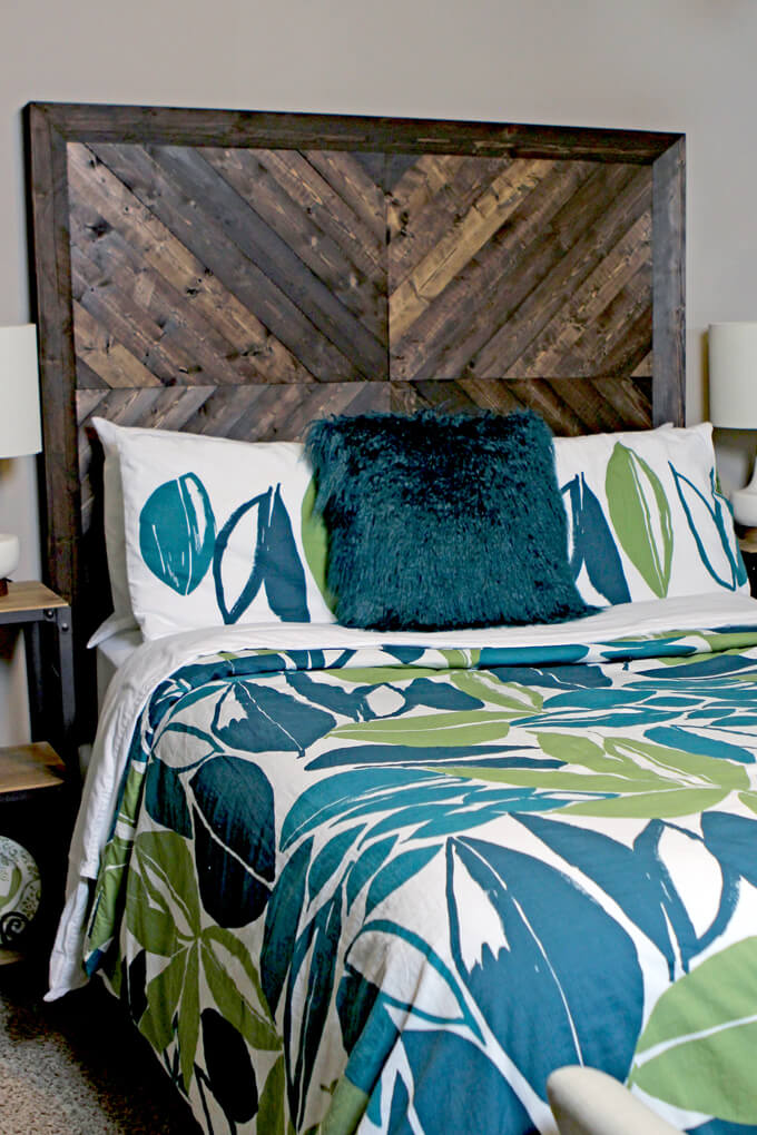 DIY Headboard For Under $50