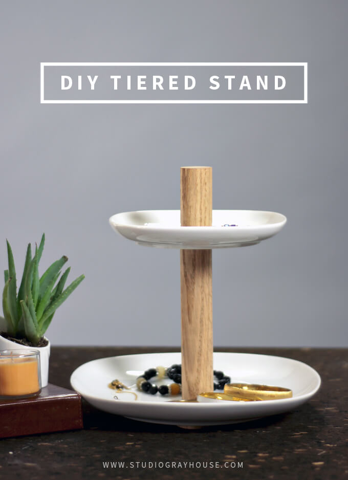DIY Tiered Stand