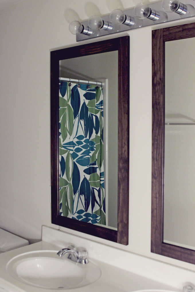 Framing Bathroom Mirrors Gray House Studio