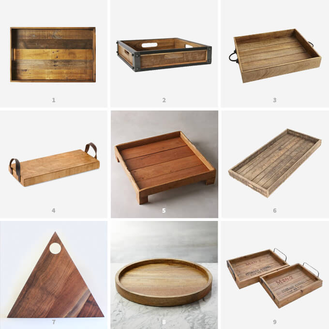 Wooden Trays | Friday Faves