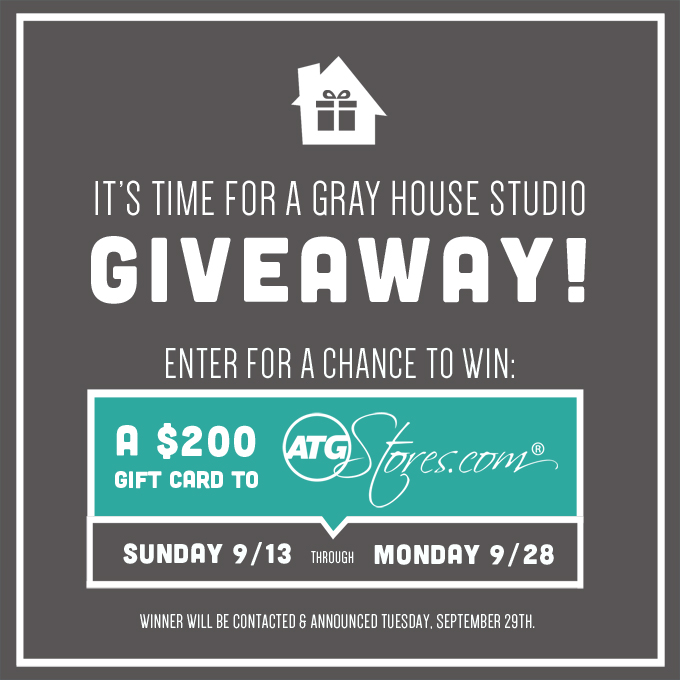Gray House Studio Giveaway