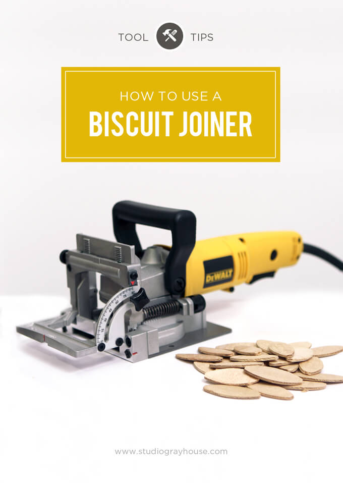 How to Use a Biscuit Joiner