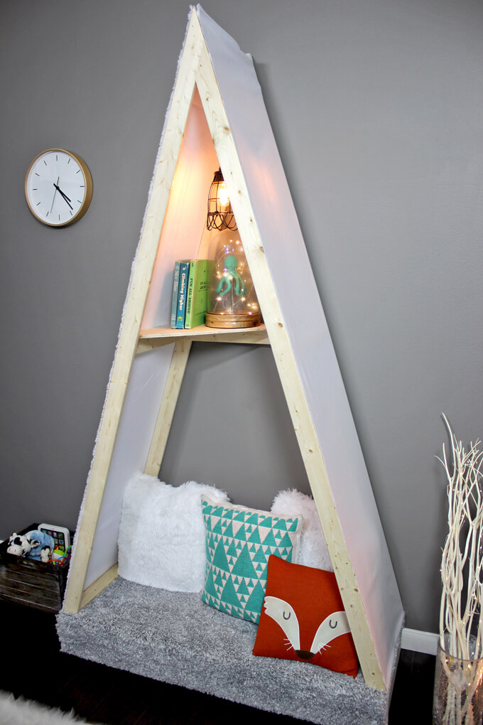 Kid's Reading Nook Tent