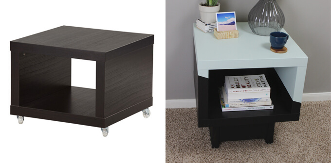 Merveilleux Lack Side Table IKEA Hack