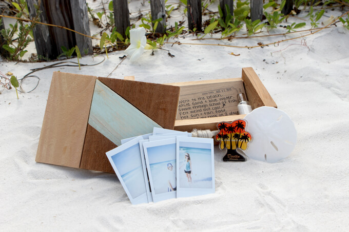 Creating a Custom Vacation Memory Box