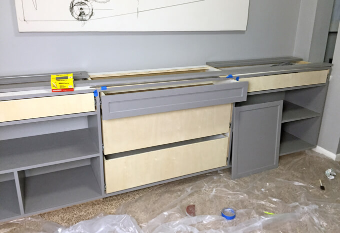 Building Office Cabinets