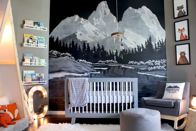 Outdoor Themed Nursery