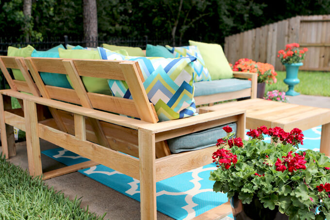 Free Diy Outdoor Sofa Plans