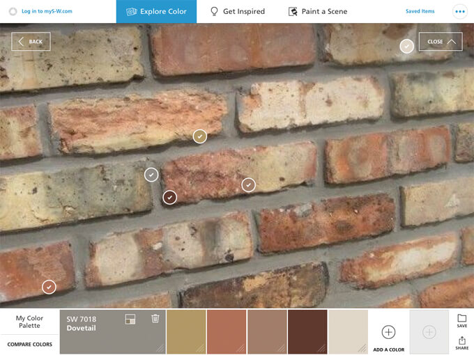 Using The Colorsnap To Pick Paint Colors