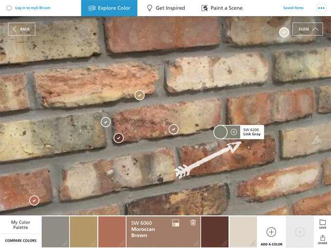 Using the ColorSnap® App to Pick Paint Colors