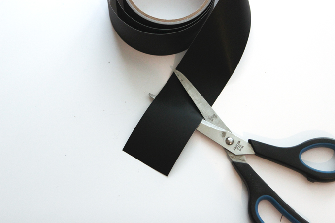 Organizing a Pantry with Chalkboard Tape