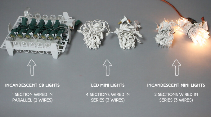 Shorten String Christmas Lights : Christmas Light String Wiring,Light.Download Free Printable Wiring Diagrams