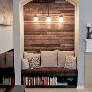 DIY Home Renovation Blog - Reading Nook