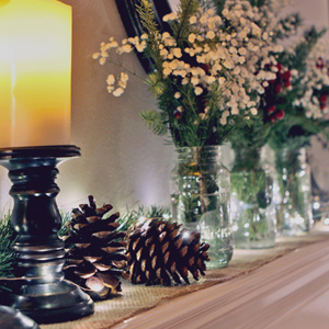 Simple Rustic Christmas Decorations