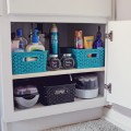 Adding Shelves to Bathroom Cabinet