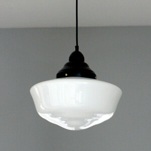 Custom Made School House Pendant Light