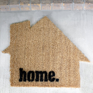 DIY Custom Shape Doormat