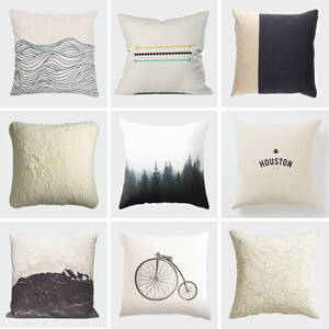 Neutral Pillow Round Up