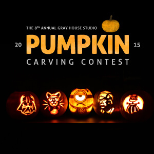 Gray House Studio Pumpkin Carving Contest 2015