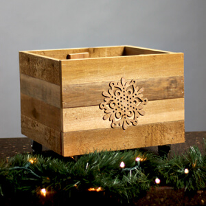 DIY Home Renovation Blog - Build a Rustic Christmas Tree Stand Box