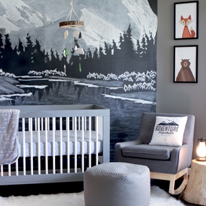 Outdoor Themed Nursery Room Tour Gray House Studio
