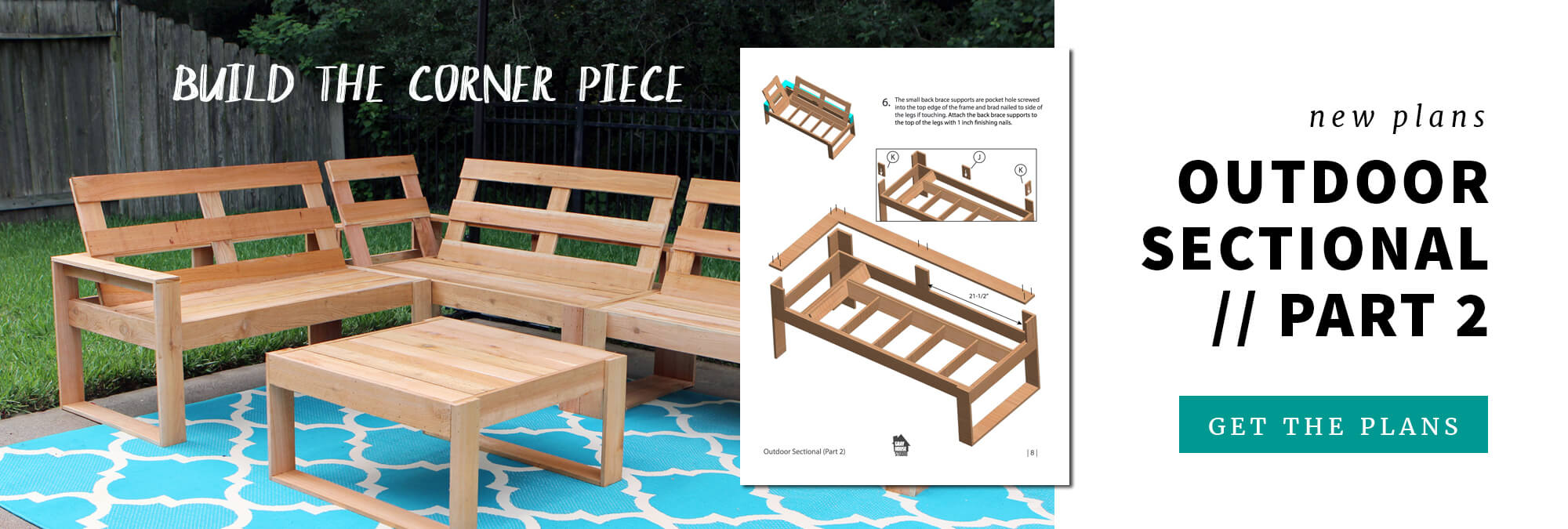 Outdoor Sectional Plans - Part 2