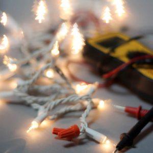 Shorten String Christmas Lights